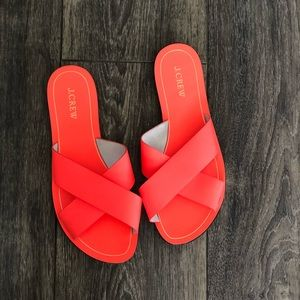 BRAND NEW and never worn j. Crew sandals